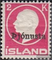 Island D41II MNH 1922 Stampa Edizione Francobolli - 1918-1944 Amministrazione Autonoma