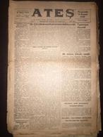 Cyprus Nicosia Lefkosa - Turkish Newspaper Ates 11 December 1946 - Books, Magazines, Comics
