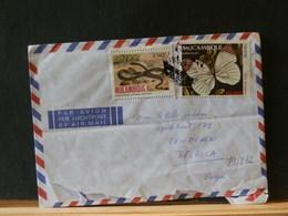 79//832   LETTRE MACAMBIQUE - Farfalle