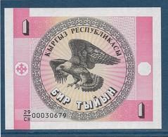 Kirghizistan - 1 Tyiyn - Pick N°1 - NEUF - Kyrgyzstan