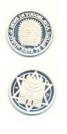 JUDAICA JEWS IN YUGOSLAVIA  YEAR 1989 SILVER - Tokens & Medals
