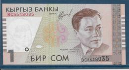 Kirghizistan - 1 Som - Pick N°7 - NEUF - Kyrgyzstan