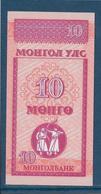 Mongolie - 10 Mongo - Pick N°49 - NEUF - Mongolie
