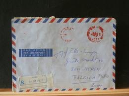 79//839  LETTRE MACAMBIQUE POUR LA BELG.  RECOMM. - Mozambique