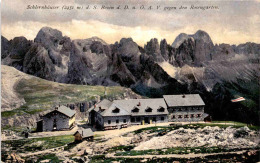 Schlernhäuser Gegen Den Rosengarten (9419) - Italia