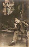 CPA Colorisée Belgique 1913 - Jeune Homme Et Rêve De Fiancaille - Noces