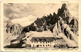 Drei Zinnenhütte Am Toblinger Riedl Gegen D. Zwölfer U. Paternkofl - Sextner Dolomiten, Tirol (1027) - Italië