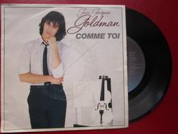 """DISQUE Vinyle 45 T - JEAN-JACQUES GOLDMAN """" Comme Toi - être Le Premier """" 1982 - TBE - Vinyl Records"""