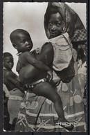 Carte Photo, Cameroun, Femme Et Enfant - Cameroun