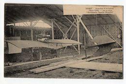 "NIORT --Semaine D'Aviation (Mars  1910)  Au Garage ""Demoiselle Santos Dumont"" (animée).....à Saisir - Niort"