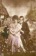CPA Colorisée Belgique Occupation Allemande 19148 - Jeune Couple, - Noces