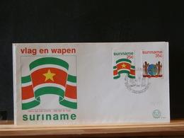 79//853   FDC   SURINAME - Briefe