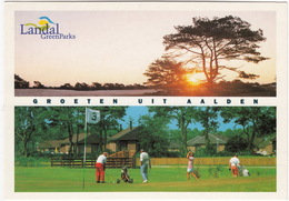 GOLF: Aalden (Holland) - Landal Greenparks - 'Aelderholt' - Golf