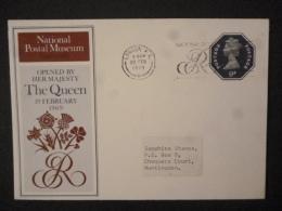 GREAT BRITAIN [UK] NATIONA POSTAL MUSEUM ENVELOPE FDC 19 FEB 1979 - FDC