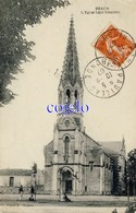 33 - Brach - L'Eglise Saint-Sébastien - 1907 - Other Municipalities