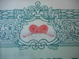GARDEN TENNIS CLUB De CABOURG                         1919 - Aandelen