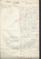ANCIENNE NOTES SUR POMPONNE ( DOYENNE DE CHELLES ) 3 PAGES LIRE ?  : - Manoscritti