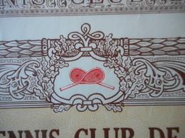 GARDEN TENNIS CLUB De CABOURG                         1919 - Actions & Titres