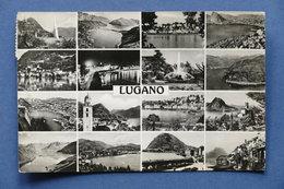 Cartolina Svizzera - Lugano - Varie Vedute - 1962 - Postcards