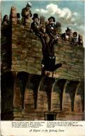 A Pilgrim At The Blarney Stone - Cork