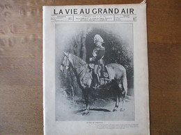 LA VIE AU GRAND AIR N°326 8 DECEMBRE 1904 LE ROI DE PORTUGAL,COUPE GORDON-BENNETT CIRCUIT SOUS LA NEIGE,VICTOIRE FRANCAI - 1900 - 1949