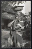 Carte Photo, Cameroun, Jeune Femme - Cameroun