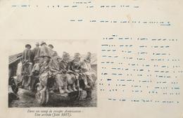 Carte Correspondance Des Armees De La Republique (France) Troupes Americaines - Une Arrivee Juin 1917 (MORSE CODE)) 19?? - Personen