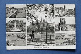 Cartolina Svizzera - Basilea - Varie Vedute - 1962 - Postcards