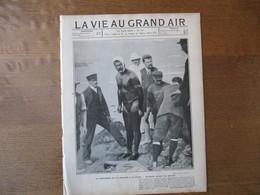 LA VIE AU GRAND AIR N°311 25 AOÛT 1904 TRAVERSEE DE LA MANCHE A LA NAGE HOLBEIN,COURSE TOULOUSE-PARIS,SEMAINE DE TROUVIL - 1900 - 1949