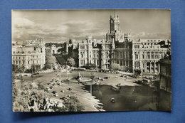 Cartolina Spagna - Madrid - Cibeles Y Casa De Correos - 1965 - Postcards