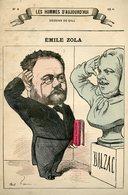 Emile ZOLA Par André GILL - Les Hommes D'Aujourd'hui - RARE - - Prints & Engravings