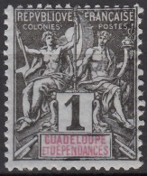 N° 27 - X X - - Guadeloupe (1884-1947)