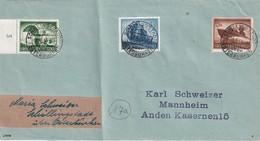 AUTRICHE 1944 LETTRE DE SCHILLINGSTADT - 1918-1945 1. Republik
