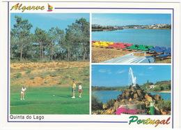 GOLF: Algarve (Portugal) - Quinta Do Lago GOLF & PEDAL BOATS - Golf