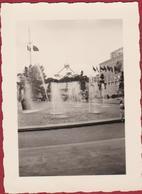 Unieke Oude Foto Klein Formaat (7.2 X 10 Cm) Expo '58 BRUSSEL Wereldtentoonstelling 1958 Atomium - Monuments, édifices
