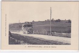 Cpa-01- Hauteville-arrivée De L'autobus-edi Miguet Freres N°1 - Hauteville-Lompnes