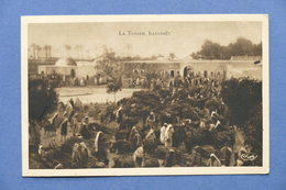 Cartolina Tunisia - Djerba Mercato Del Bestiame A Houmt Souk - Postcards