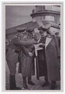 """DT- Reich (000584) Propaganda Sammelbild Adolf Hitler"""""""" Bild 148, Erste Besichtigung Des Richthofen- Geschwaders - Germany"""