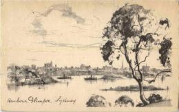 Australia - Sydney - Harbour Glimpse - Sydney