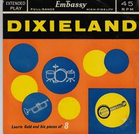"""Laurie Gold 45t. EP ANGLETERRE """"dixieland"""" - Jazz"""