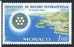 Monaco 666,MNH.Michel 865. Rotary International 50th Ann.1967.Monte Carlo. - Rotary, Lions Club