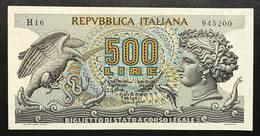 500 Lire Aretusa 20 10 1967 Sup/q.fds   LOTTO 1896 - [ 2] 1946-… : Républic
