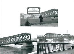 3  Bilder Von  Strassburg   Aus Dem Jahre 1950  - Brücke Bei  Kehl - Repro's