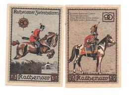 **notgeld  Rathenow 80+90 Pfennig 1099.2 - [11] Emissions Locales