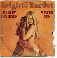 BRIGITTE BARDOT 45T VINYLE HARLEY DAVIDSON / MISTER SUN - Collectors