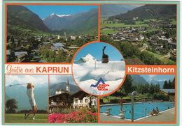 GOLF: Kaprun - Kitzsteinhorn - Golfplatz, Schwimmbad, Gletscherbahn - (Austria/Österreich) - Golf