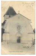 24-RAZAC-SUR-L'ISLE-L'Eglise...1905  Animé - France