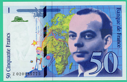 50 Francs - France - Saint  Exupéry -  1994 - N°Z020985775  -  Neuf  - - 1992-2000 Laatste Reeks