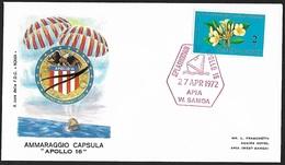 1969 - SAMOA - Cover + Y&T 241 [Plumeria Acuminata] + W. SAMOA - Samoa