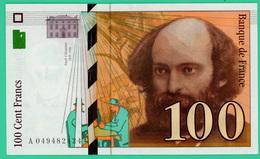 100 Francs - France -  Sézanne - 1998 - N° A049482424  -  Spl  - - 1992-2000 Dernière Gamme